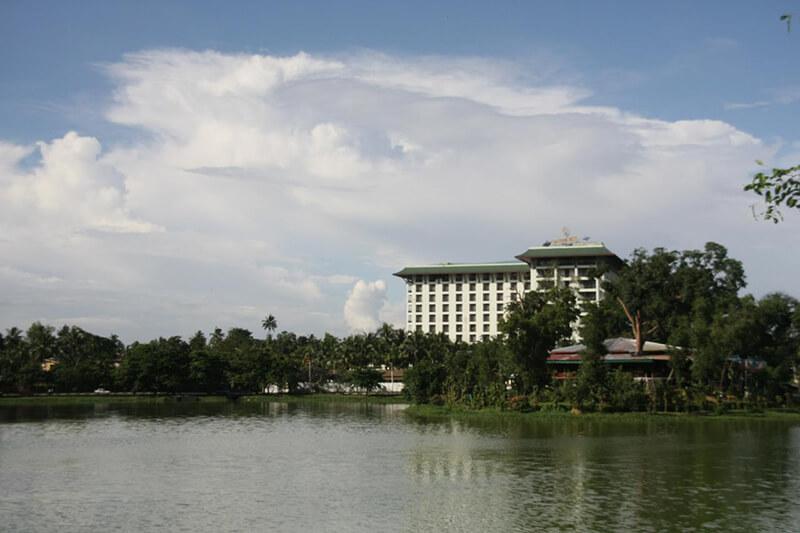 火事で焼失したヤンゴンの「カンドージパレス・ホテル」が再建工事へ