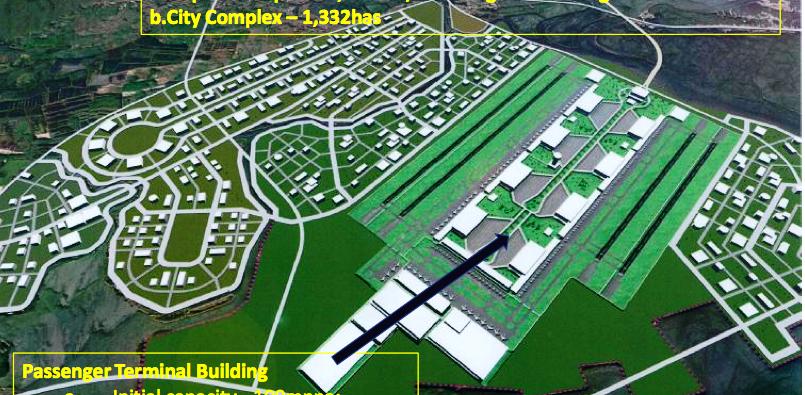 もはやパンク状態のマニラ国際空港  サンミゲル社がブラカン新空港を建設