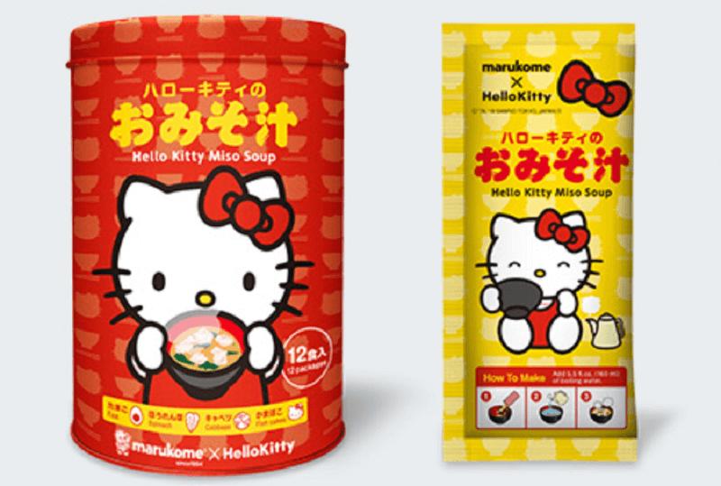 みそ汁のマルコメ、外国人の人気が高いハローキティ×味噌で新商品を開発