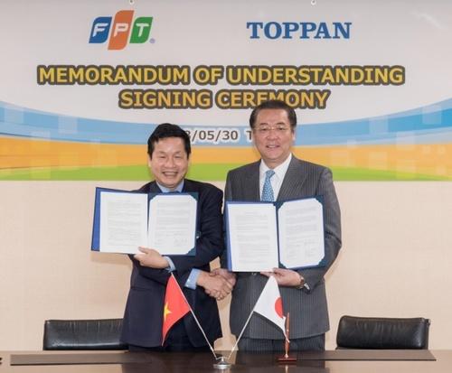 凸版印刷、ベトナムのIT最大手FPTと協業拡大の覚書