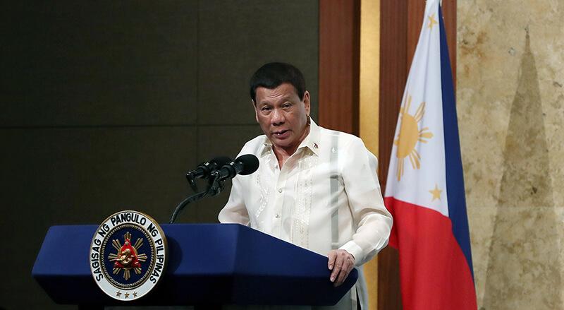 フィリピン:ドゥテルテ大統領の支持率低下は 娘を大統領選に出す計算からという見方