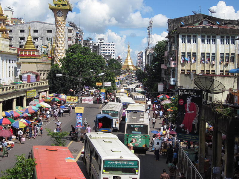 ヤンゴン国際空港~市内を結ぶシャトルバスが運行開始