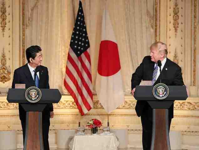 6月7日に日米首脳会談 北交渉、安倍首相はトランプ大統領に妥協しないよう求める