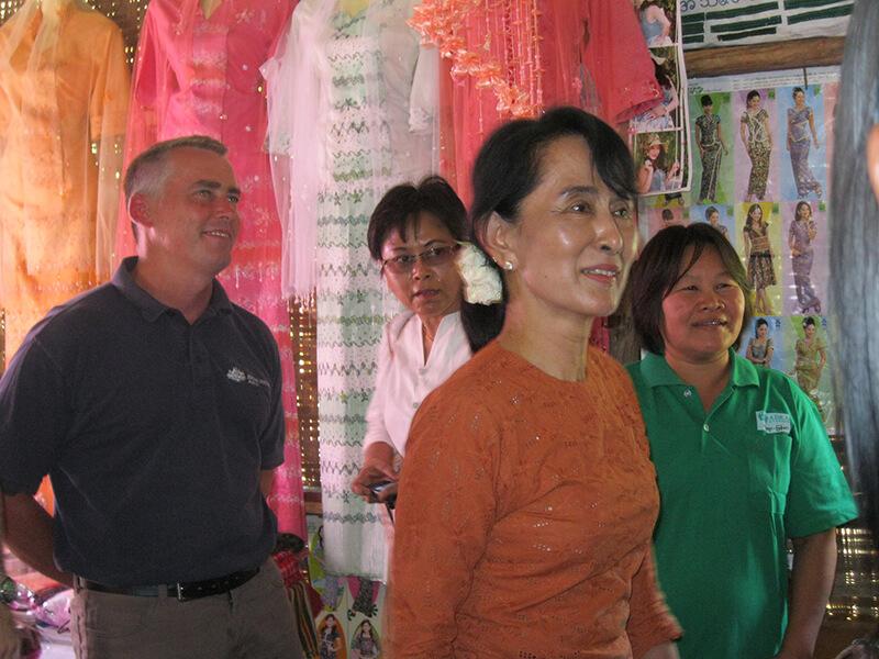 アウンサン・スー・チー国家顧問、10月に日本訪問へ