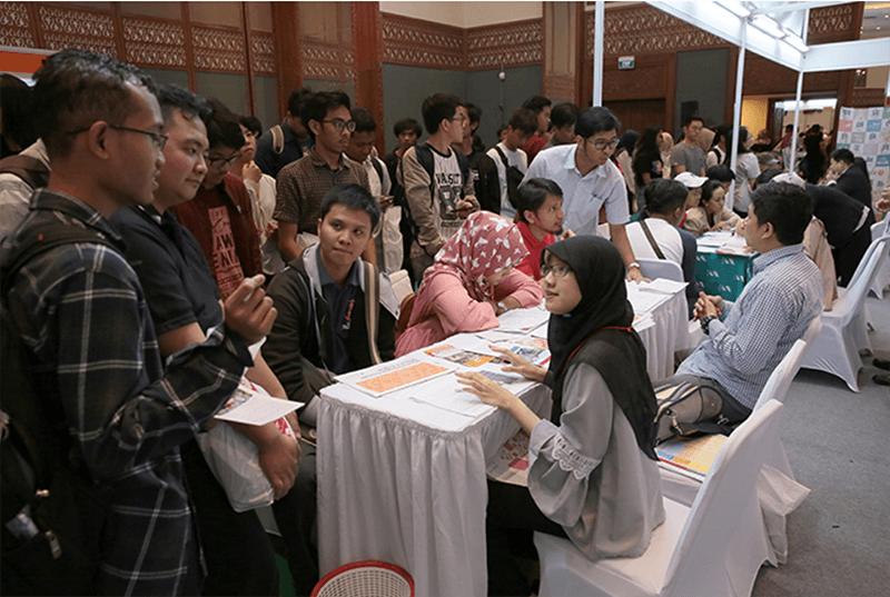 インドネシア・過去最高5315人が来場 第25回日本留学フェア