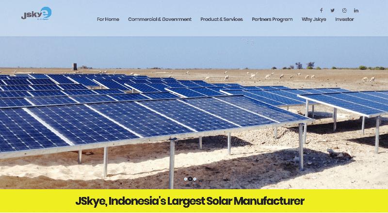 日系の4者と合弁 インドネシアにて太陽光発電普及へ スカイエナジー