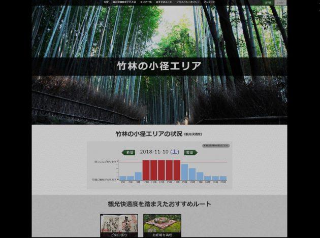 京都・嵐山で「観光快適度」を測定 オーバーツーリズム問題を解決へ