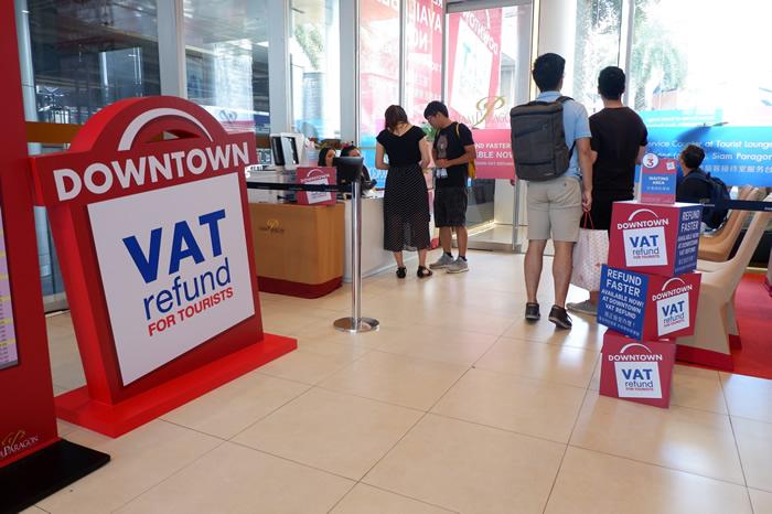 タイでのVAT(付加価値税)の払い戻し バンコク市中でも可能に