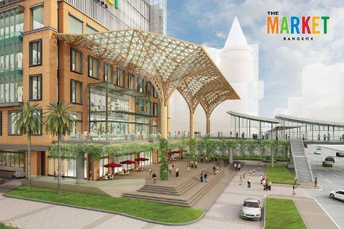 バンコクで複合施設「ザ・マーケット・バンコク」が2019年2月14日にオープン