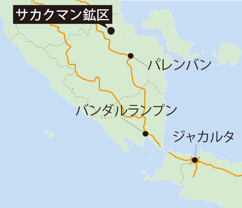 インドネシア「最大級」ガス田開発へ 南スマトラ・サカクマン鉱区 レプソル・三井石油開発参画
