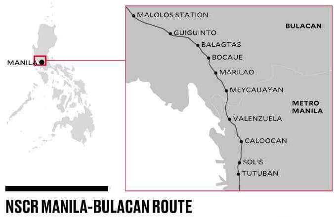 フィリピン国鉄の延伸路線、日本のODAで着工