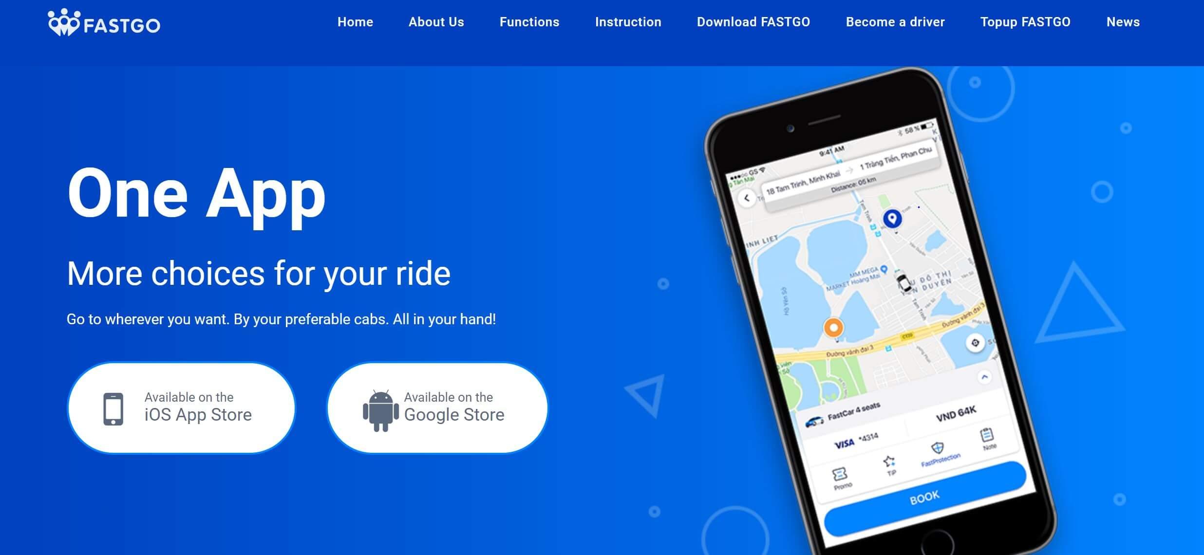 相乗りアプリのファストゴー、シンガポール進出へ