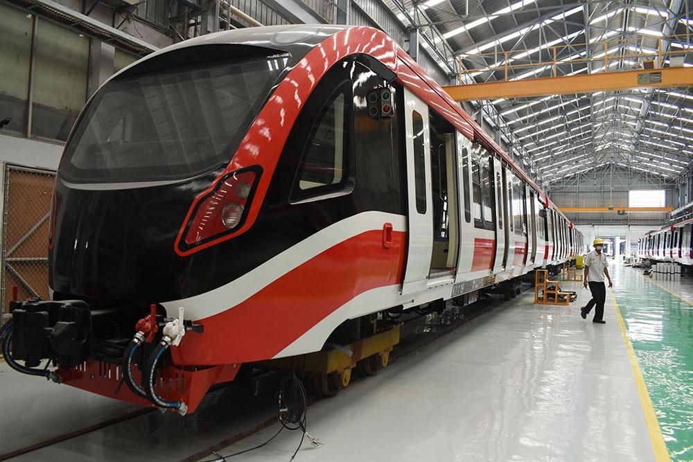 インドネシア首都圏LRT用 国産車両納入へ