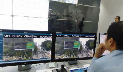 カンボジア: 交通管理システム、市内の渋滞緩和に期待