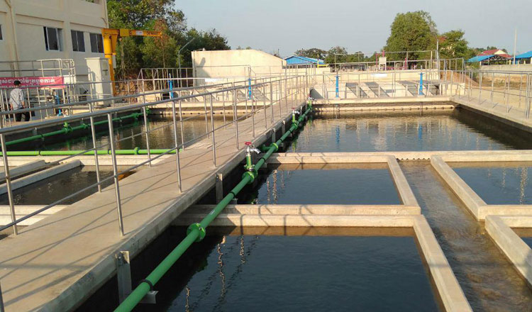 カンボジア: JICA支援のカンポット水処理施設、まもなく稼働へ
