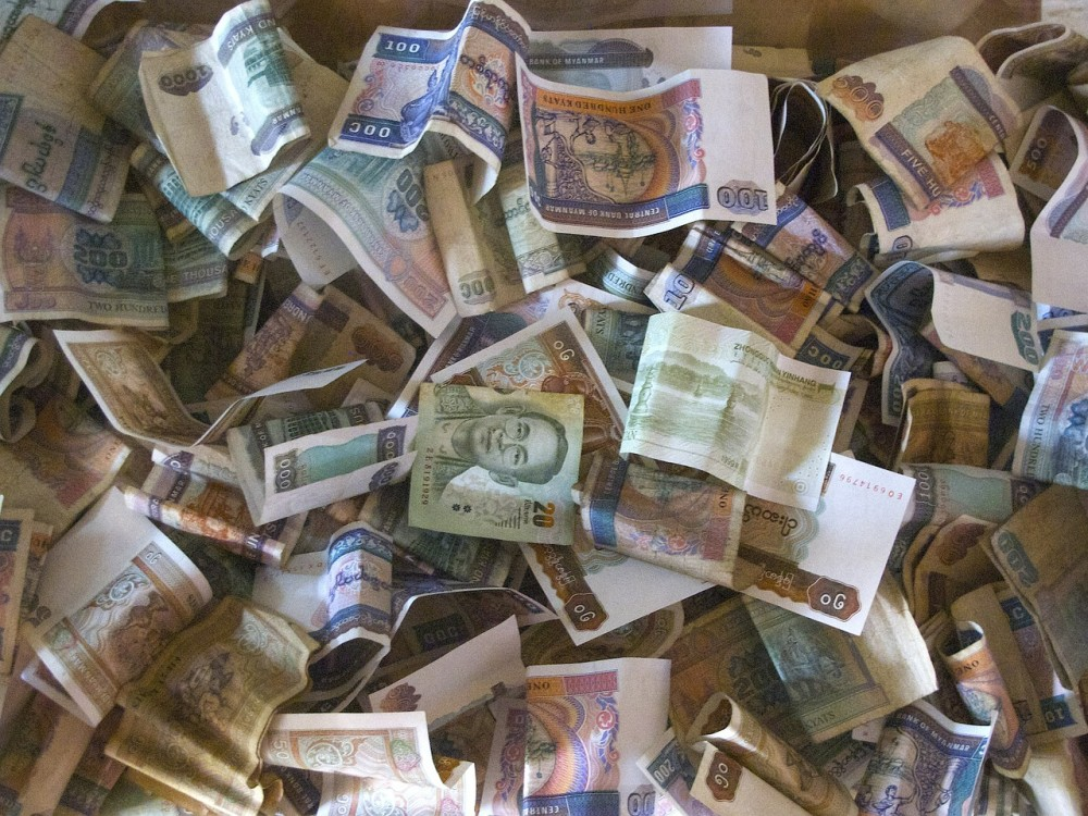 ミャンマー:平均労働者の1日あたりの支出額はK7000以上