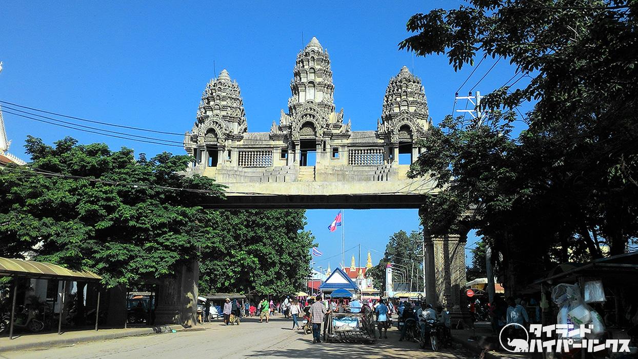 タイとカンボジアをつなぐ鉄道が開通へ、クロンリューク駅からポイペト駅まで