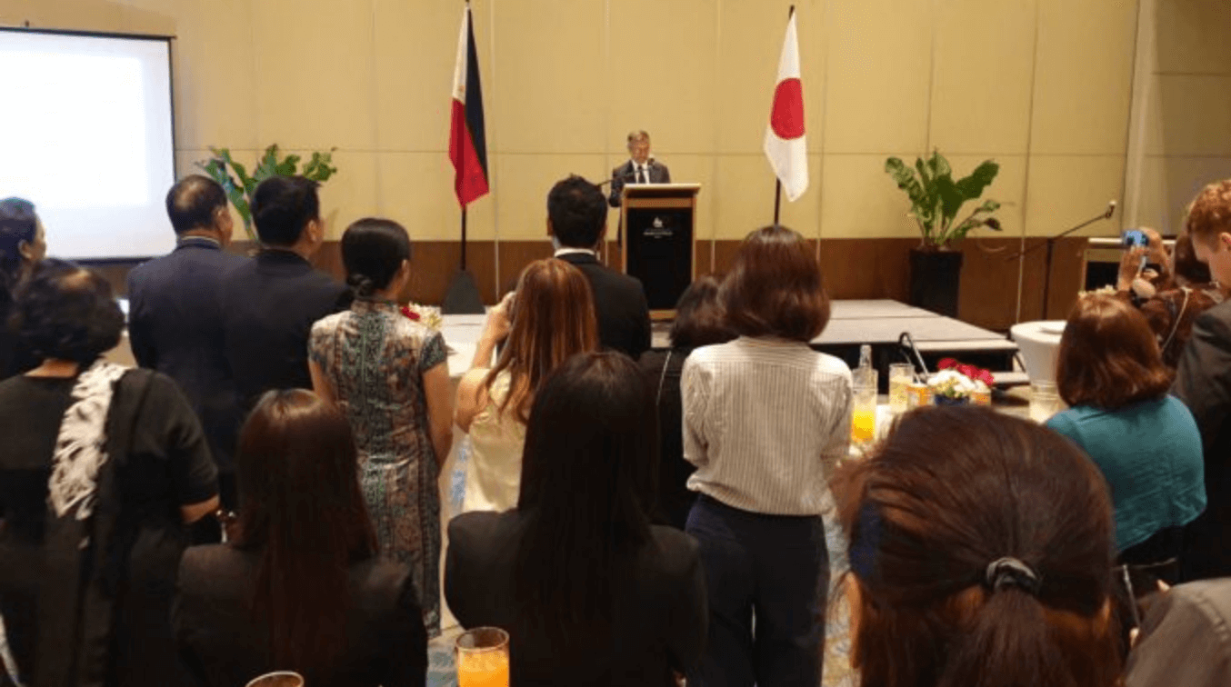 フィリピン:新天皇即位を祝う会がダバオで開催される
