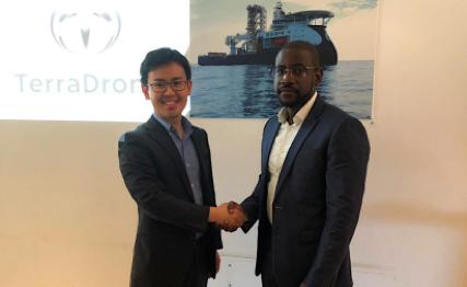 「テラドローン」がアフリカ・アンゴラのドローン点検企業に出資    アフリカのオイル&ガス市場での事業を拡⼤