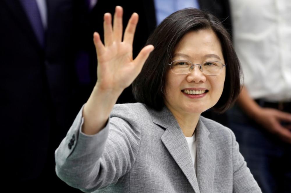 台湾総統が今月訪米へ、カリブ海外遊に合わせ 中国は反発の可能性