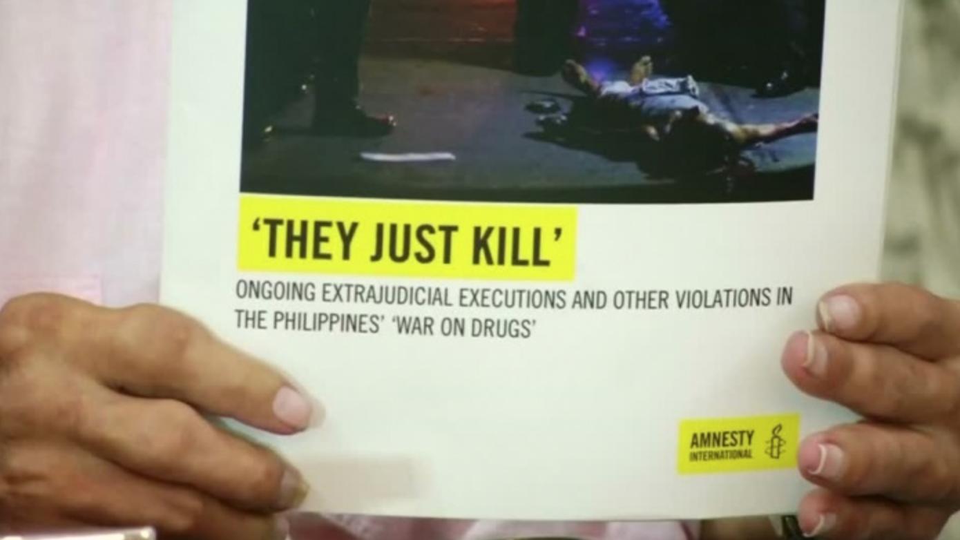 フィリピン:人目につかず殺せる郊外に拡大、フィリピン麻薬戦争