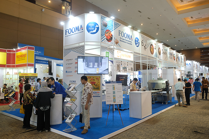 食品機械展示会が開幕 JIエキスポ 日系企業も多数出展