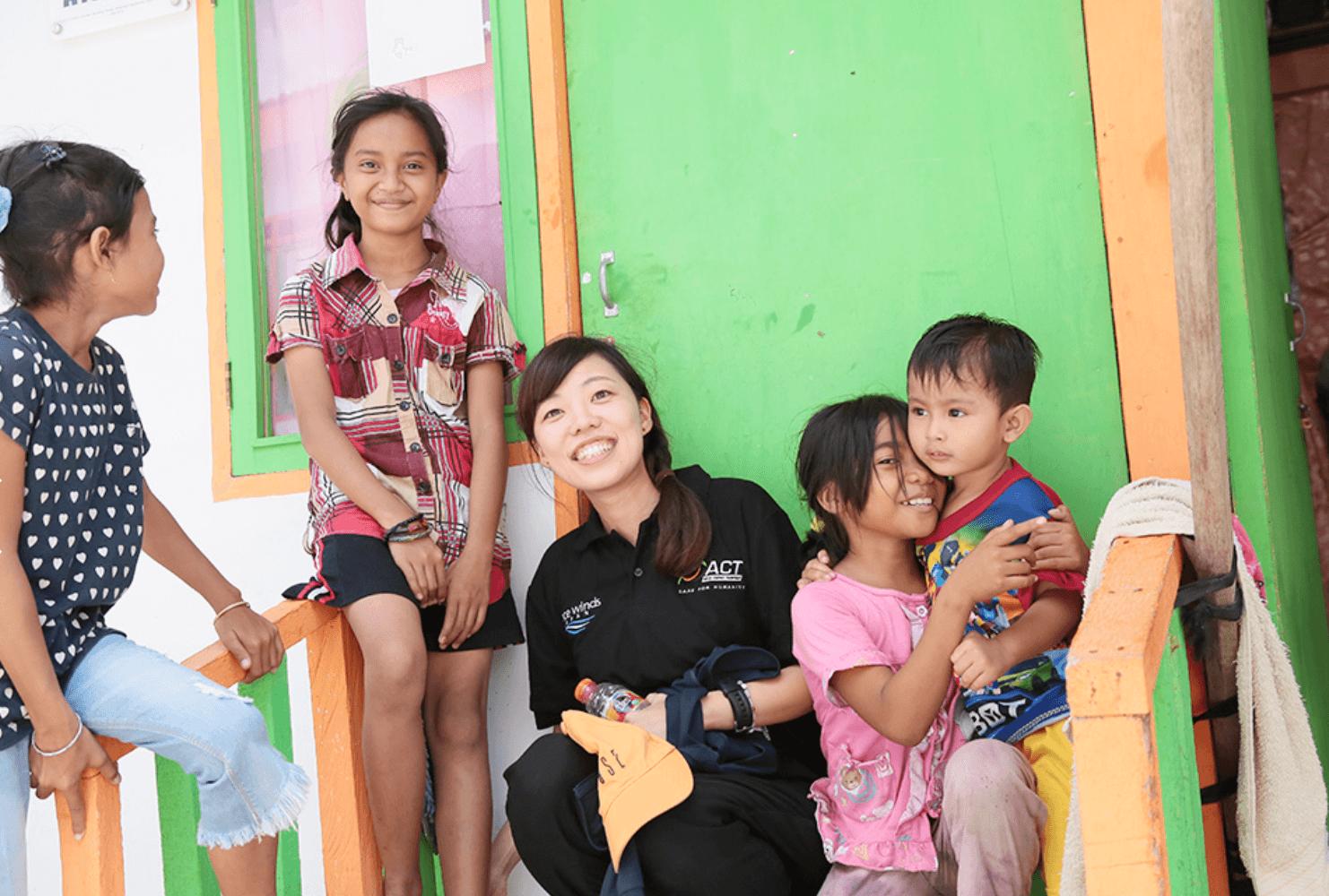 インドネシア:仮設住宅、工夫凝らし 中部スラウェシ 日本NGO支援