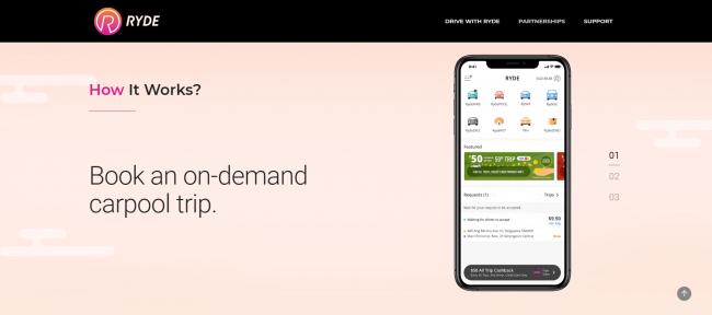 マレーシア:シンガポール発カープールアプリ「Ryde」がKLに進出