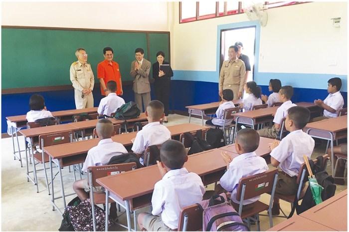 日本政府がタイ・カンチャナブリー県の学校校舎整備計画を支援