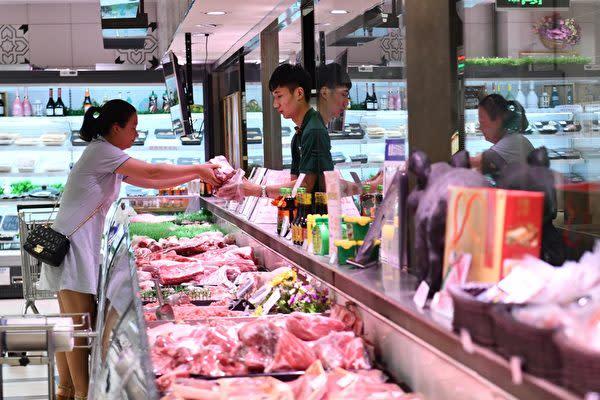 中国:中国CPI、9月に3%上昇 豚肉価格約7割急騰