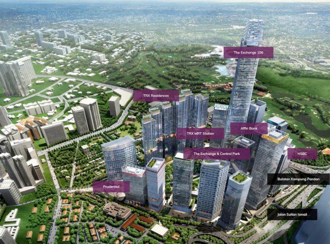 マレーシア:西武デパート-2021年下期TRXに開業