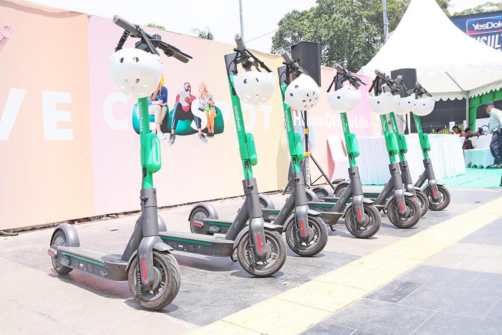 インドネシア:eスクーター取り締まり 幹線道路走行の禁止 ジャカルタ警視庁