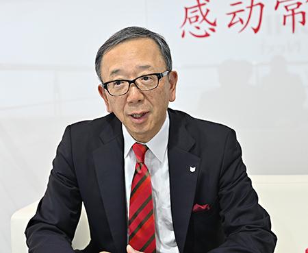 キヤノン中国の小澤社長、「中国市場の重要性は増している」