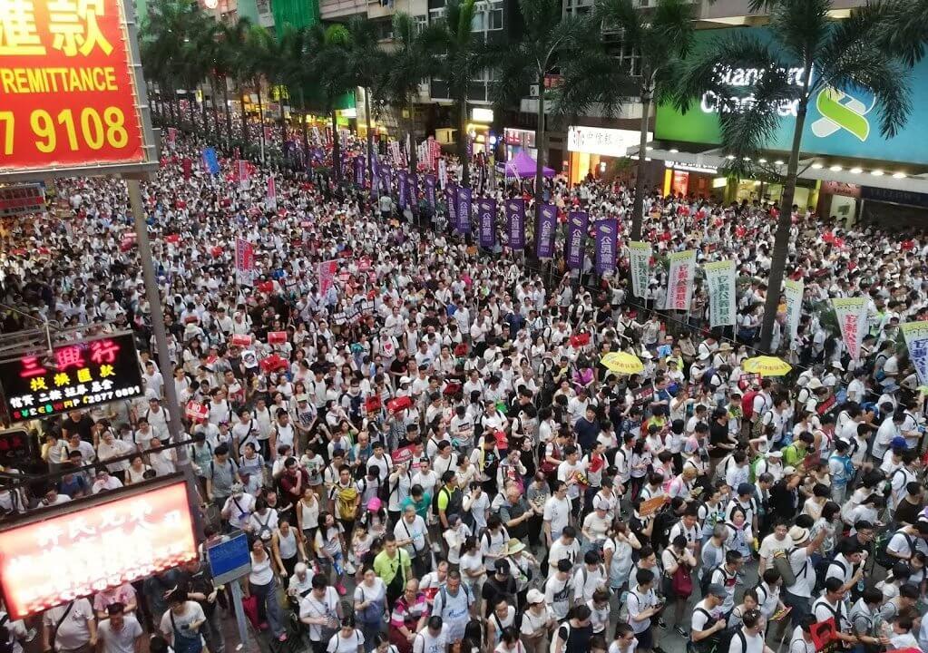 香港:理工大付近で21歳の日本人逮捕