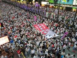 香港:デモ活動に乗じて犯罪行為が多発