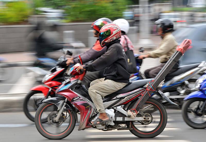 インドネシア:昨年2輪販売、648万7000台 輸出81万台