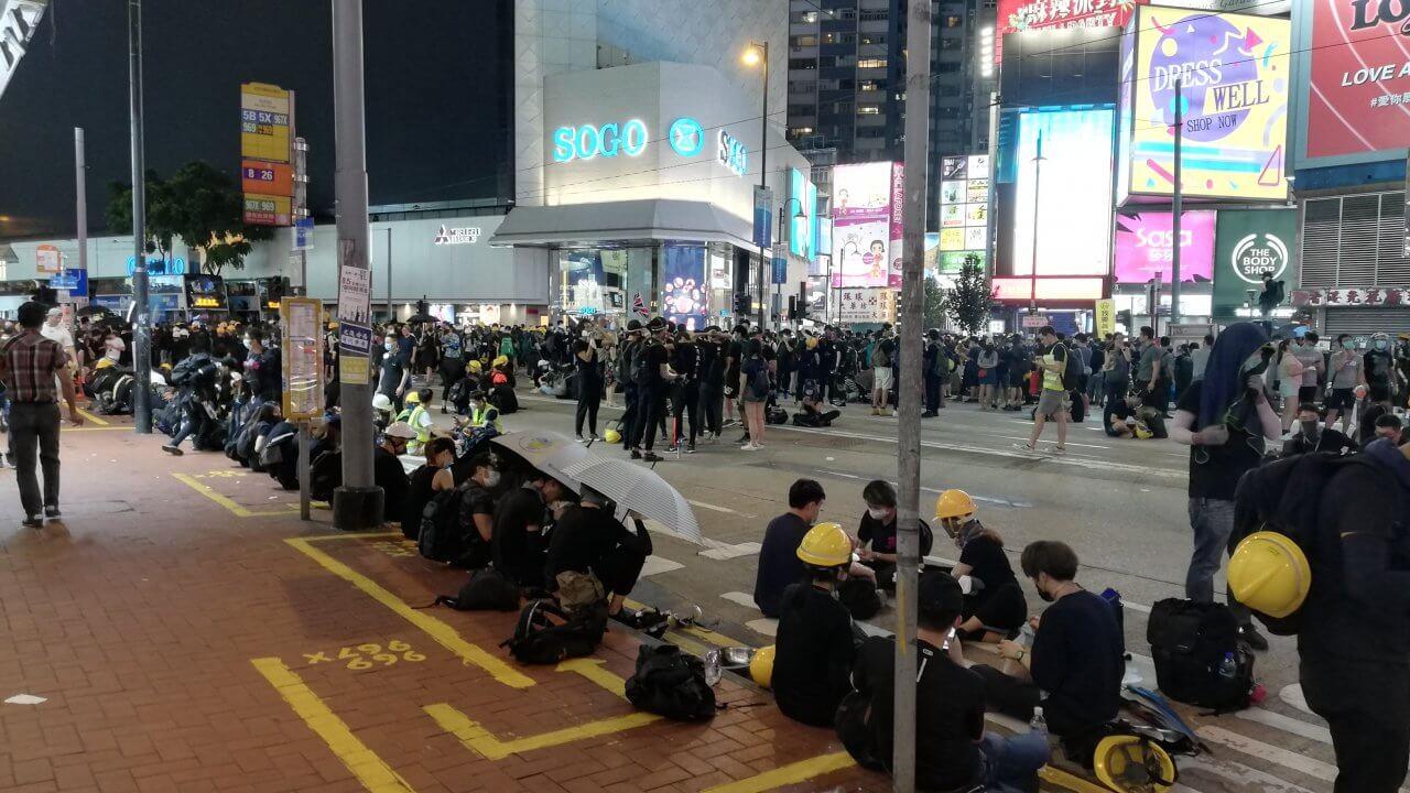 香港:歳末爆弾テロ計画を阻止、4人逮捕