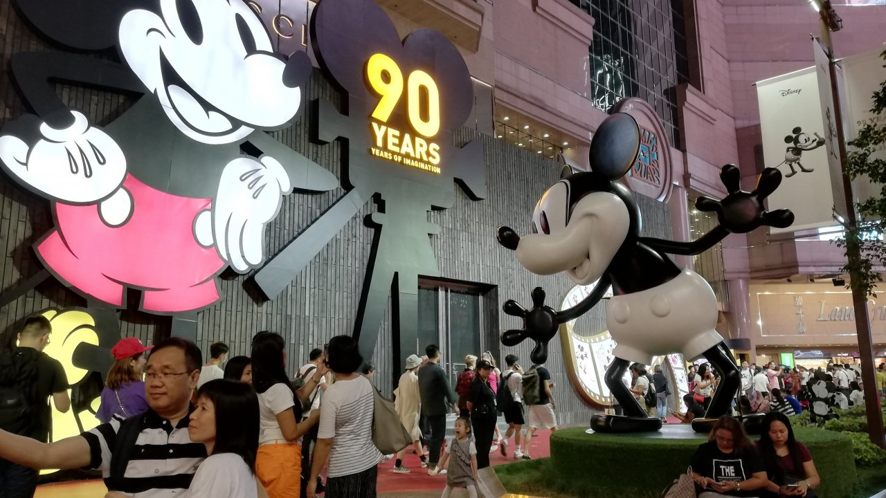 香港:ディズニー隣の新型コロナ隔離施設は2億ドル