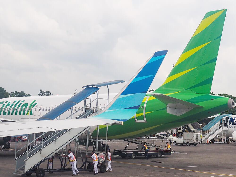 インドネシア:航空運賃50%引き ガルーダとシティリンク 新型コロナ対策で