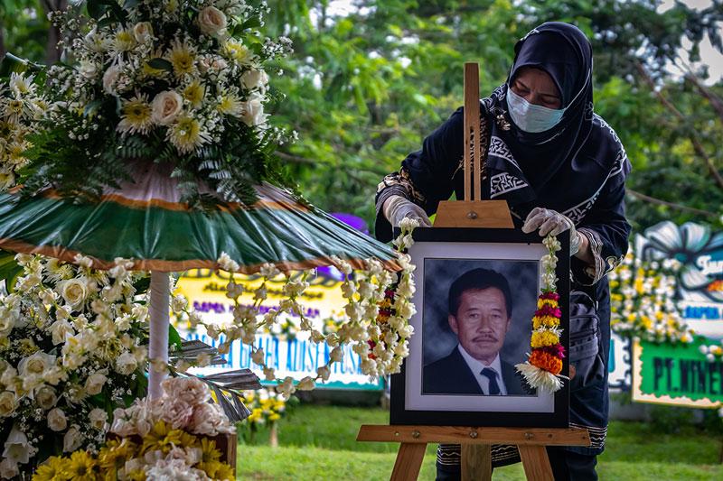 インドネシア:スハルト氏の政商死去