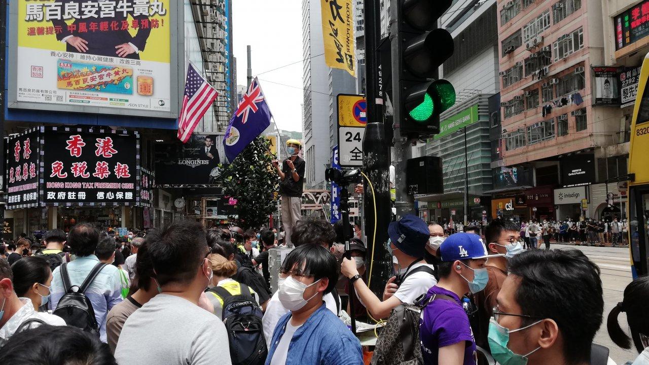 香港:香港版国家安全法、全人代で通過