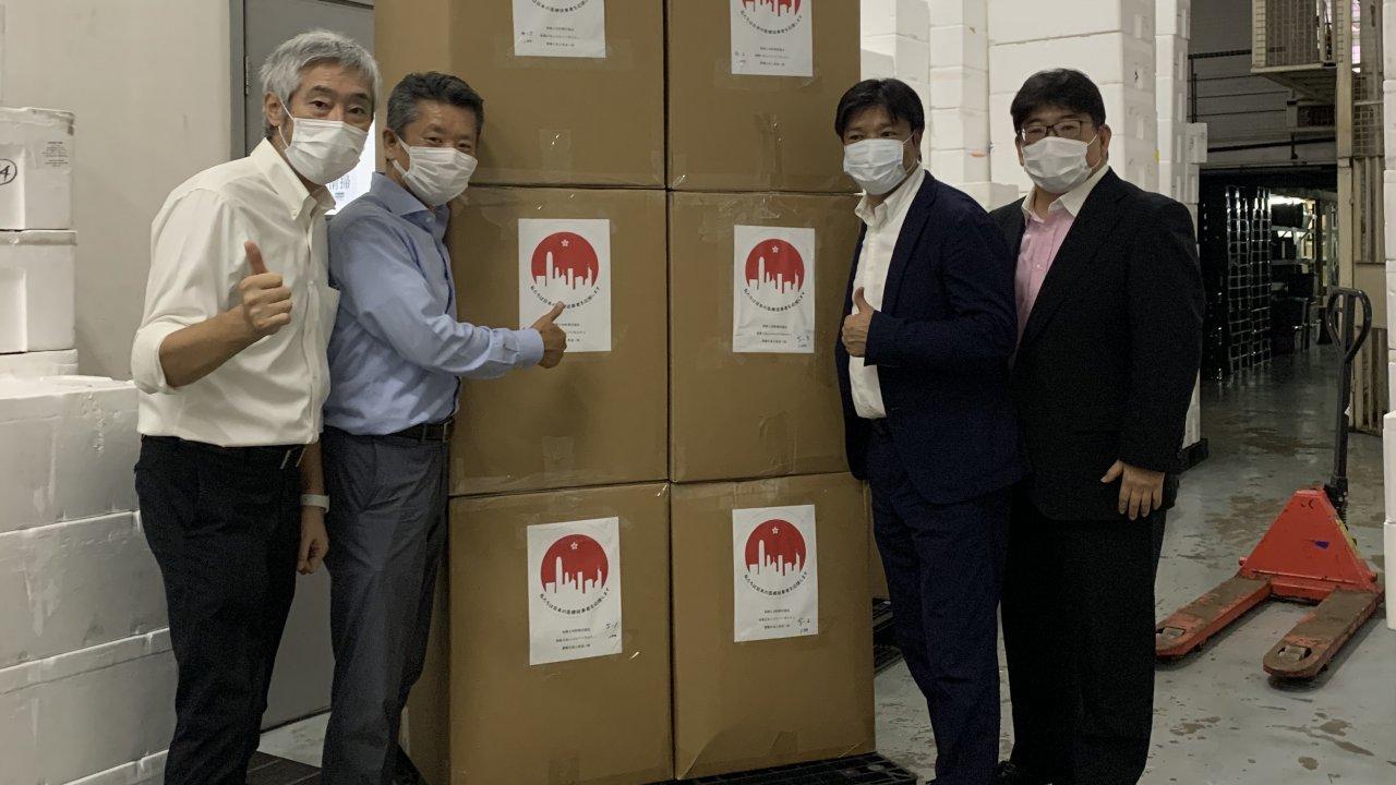 香港:在港邦人が日本に医療防護服を寄贈