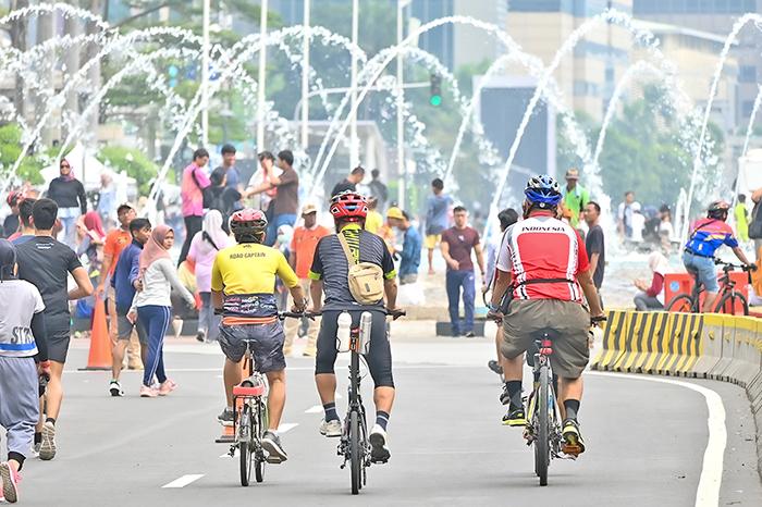 インドネシア:自転車ブームに追い風 コロナ禍で意識変化 バス・電車に「ノー」