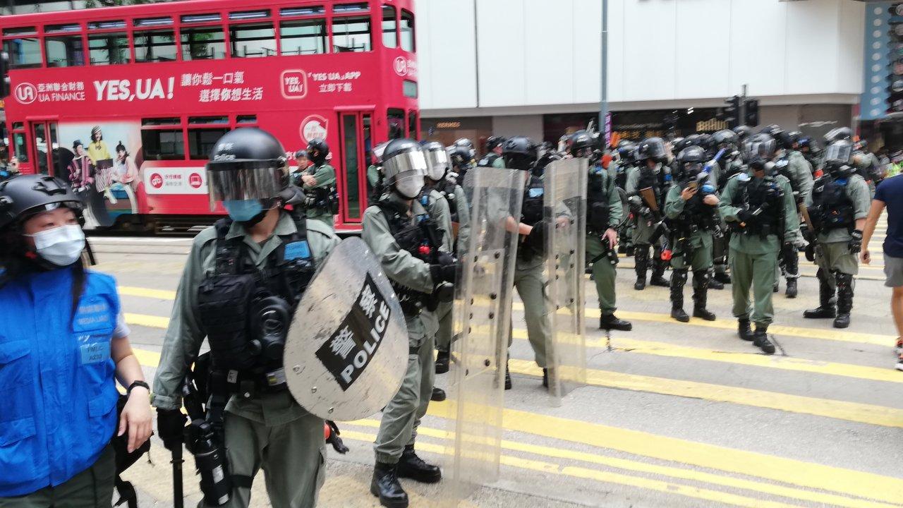 香港:国家安全法、民主派の96%が反対