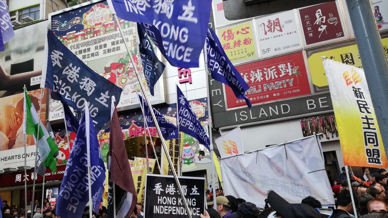 香港:米大統領、デモ支援資金の凍結指示