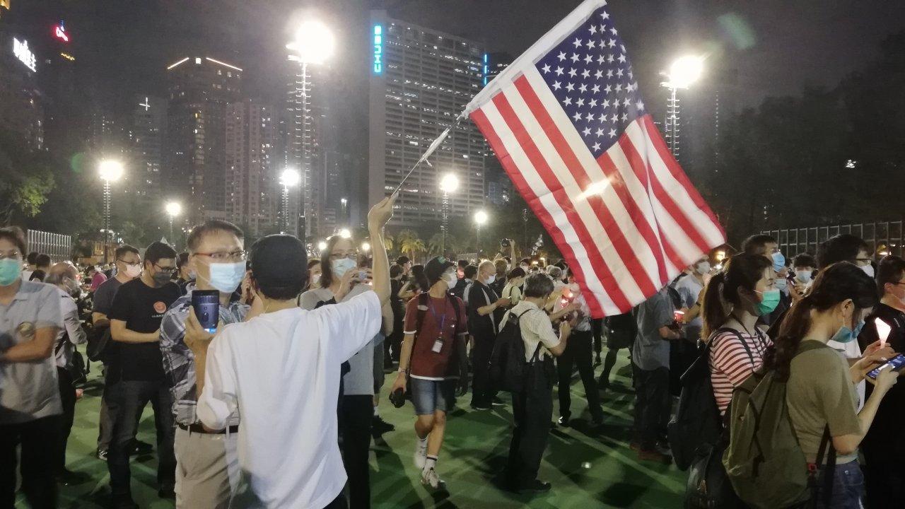 香港:64集会、禁止にもかかわらず開催