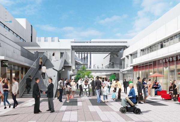 最先端技術や文化産業など集積した大型複合施設「羽田イノベーションシティ」オープン、インバウンド見据え日本文化発信施設も併設