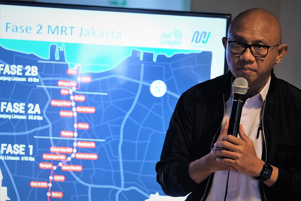 インドネシア:7月末に着工へ MRT第2期 タムリン通りは縮小