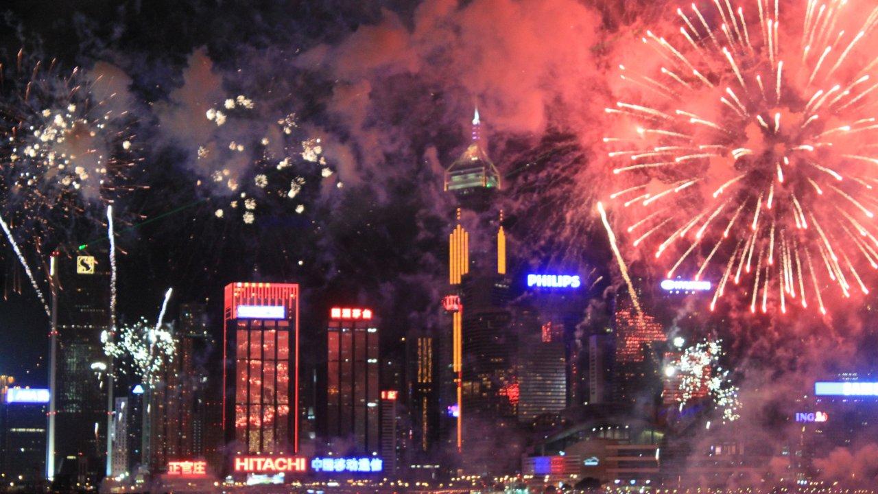 香港:国慶節の花火大会は今年も中止