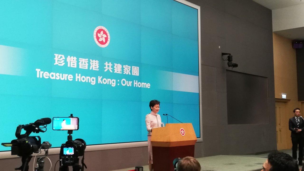 香港:施政報告で若者の大湾区就職を支援